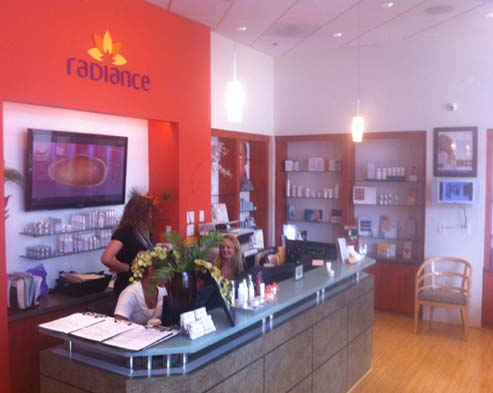 New Radiance Front Desk
