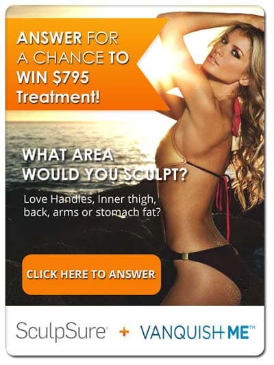 Win Free $795 SculpSure or Vanquish Treatment Card