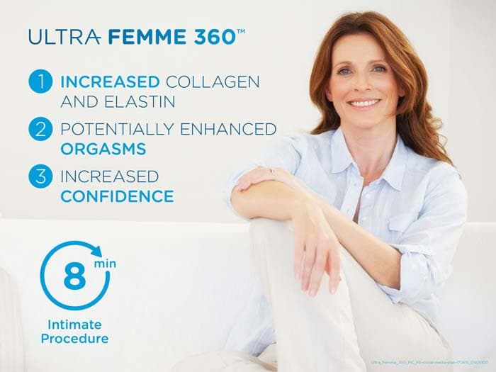New Radiance Cosmetic Center Ultra Femme 360 Model